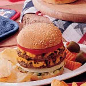 Double-Decker Burgers
