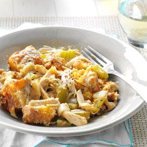 Chicken Cornbread Casserole
