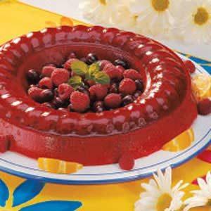 Cran-Raspberry Sherbet Mold