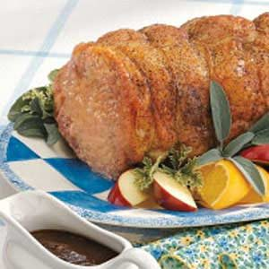 Grilled Pork Loin Roast