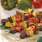 Mixed Grill Kabobs
