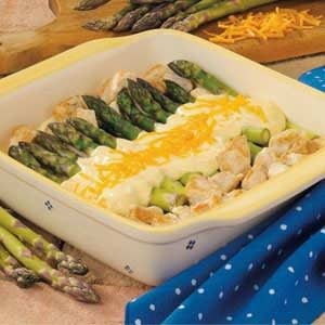 Curried Chicken with Asparagus