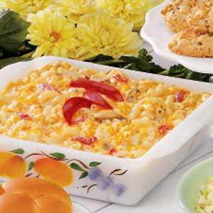 Cheddar Mushroom Macaroni