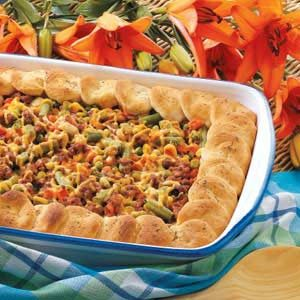 Biscuit-Topped Italian Casserole