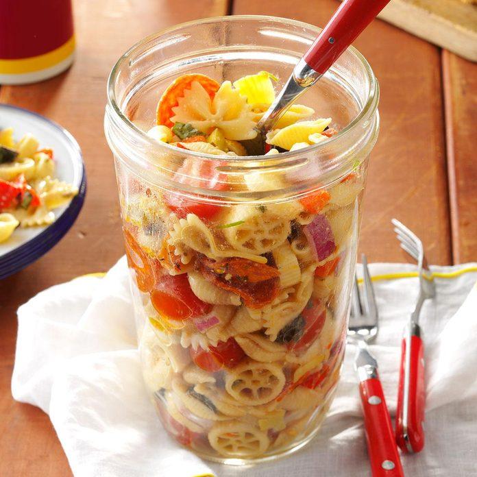 Pasta Salad in a Jar