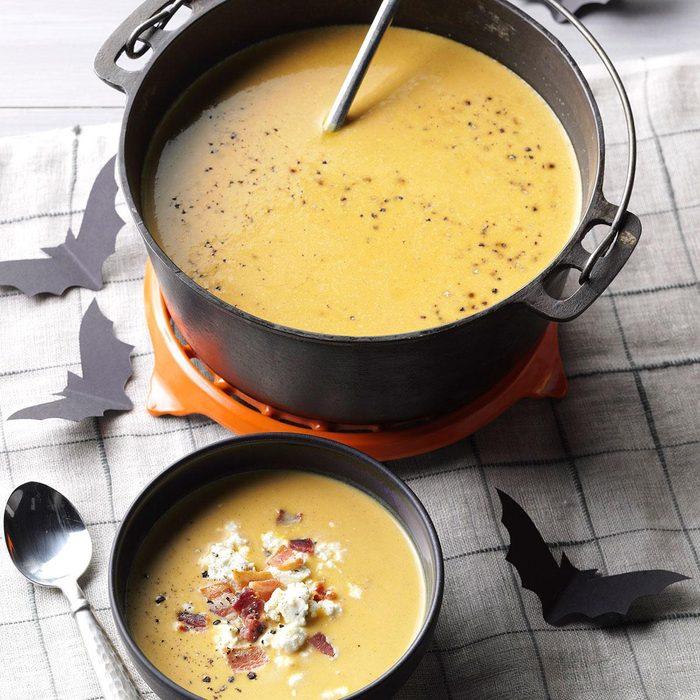 Anti-Vampire Potion (Butternut Squash & Garlic Soup)