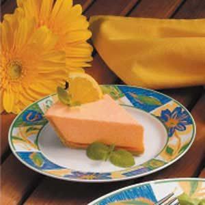 No-Bake Orange Chiffon Pie