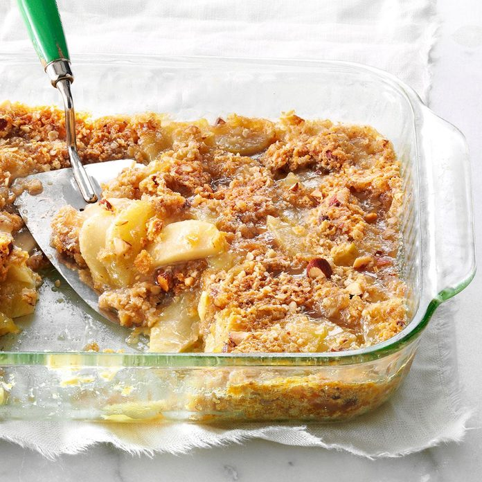 Apple-Almond Bake