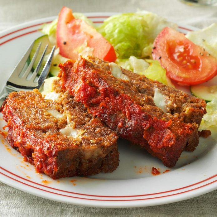 Wednesday: String Cheese Meat Loaf