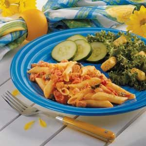 Stovetop Ham and Penne