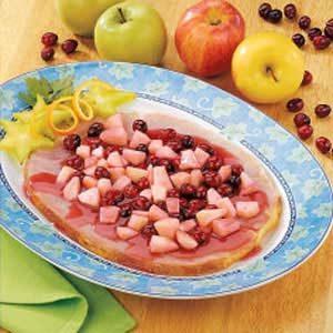 Cran-Apple Ham Slice