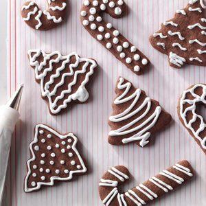 Chocolate Cutout Cookies