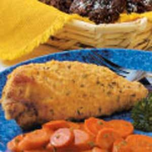 Light Oven-Fried Chicken