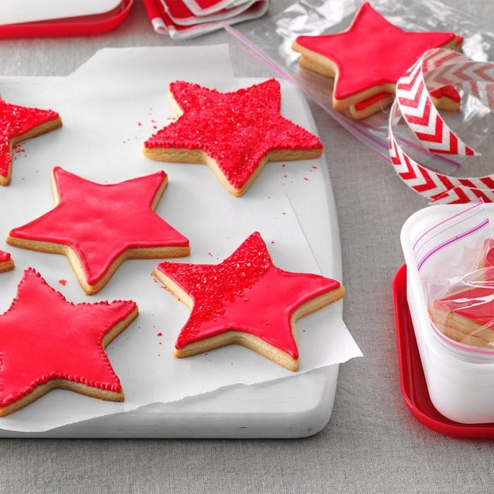Red Star Cookies