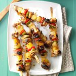 Turkey Pepper Kabobs