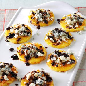 Gorgonzola Polenta Bites