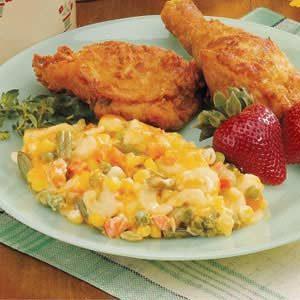 Vegetable Macaroni