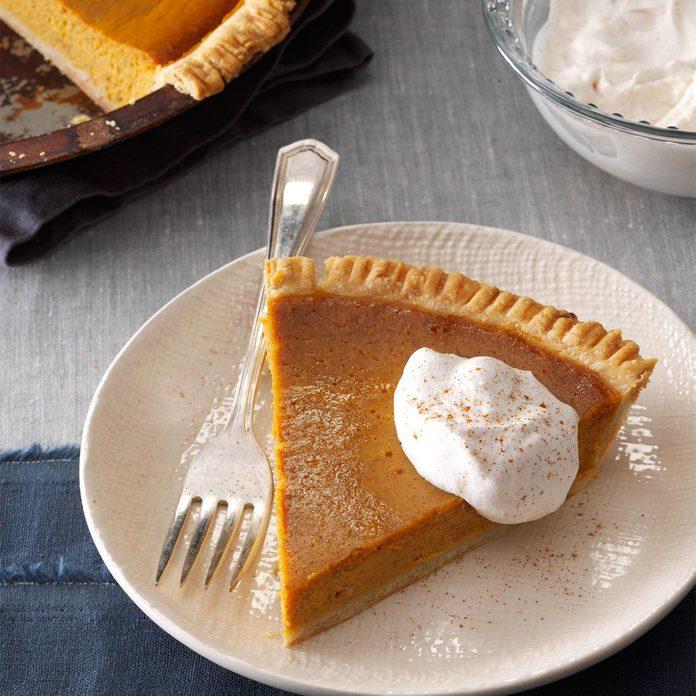 Gingery Pumpkin Pie
