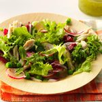 Spring Chicken and Pea Salad