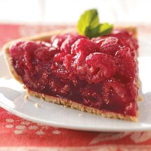 Fresh Raspberry Pie