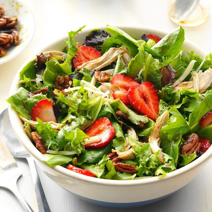 Inspired by: Grilled Chicken and Strawberry Salad