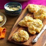 Cheese & Pesto Biscuits