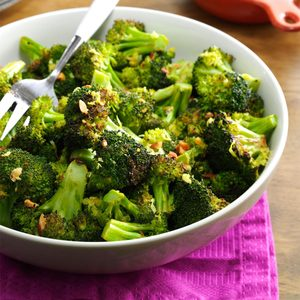 Lemon Pepper Roasted Broccoli