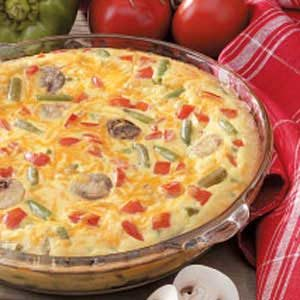 Green Bean Quiche