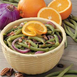 Nutty Onion Green Beans