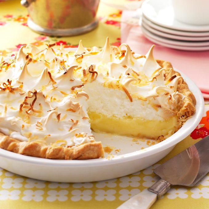 Inspired by Jane's Coconut Meringue Pie
