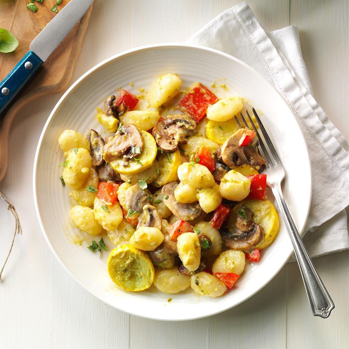 Garden Vegetable Gnocchi