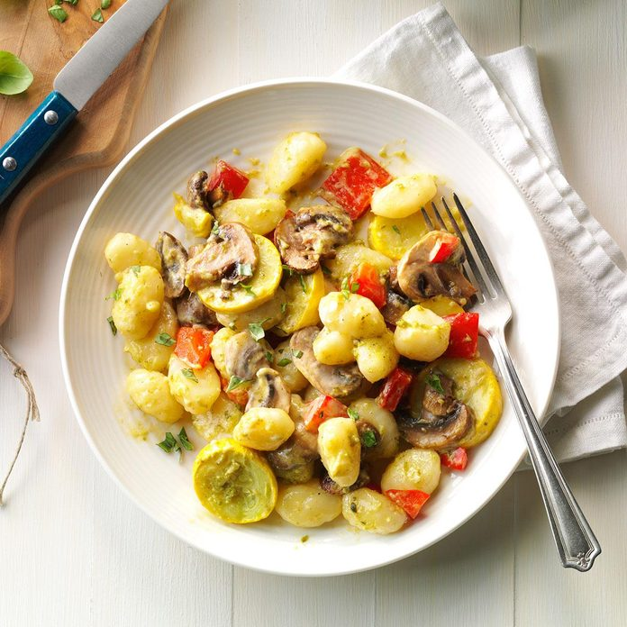 Day 31: Garden Vegetable Gnocchi