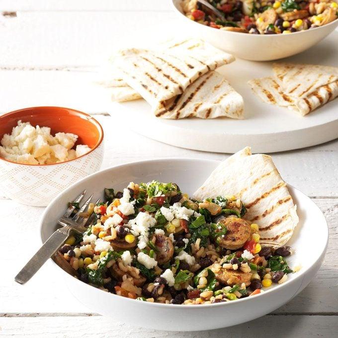 Chorizo Burrito Bowls