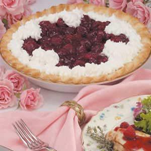 Fresh Glazed Raspberry Pie
