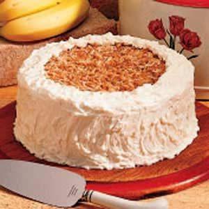 Banana Coconut Cake