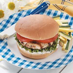Basil Turkey Burgers