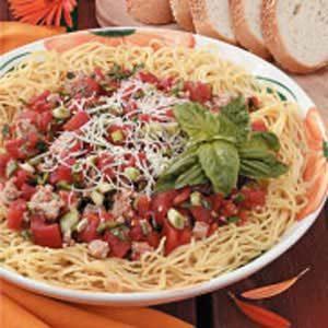 Turkey-Tomato Pasta Sauce