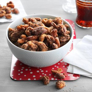 Slow-Cooker Spiced Mixed Nuts
