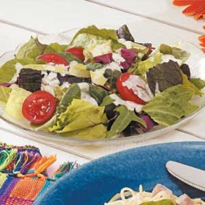 Creamy Italian Salad