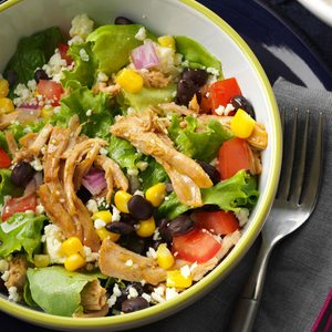 Southwest Shredded Pork Salad