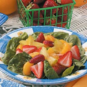 Fruit 'n' Spinach Salad