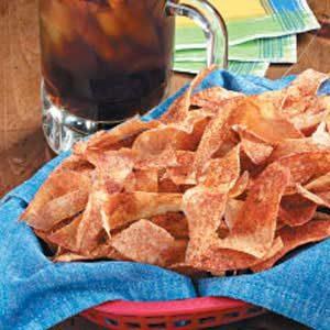 Spicy Ribbon Potato Chips