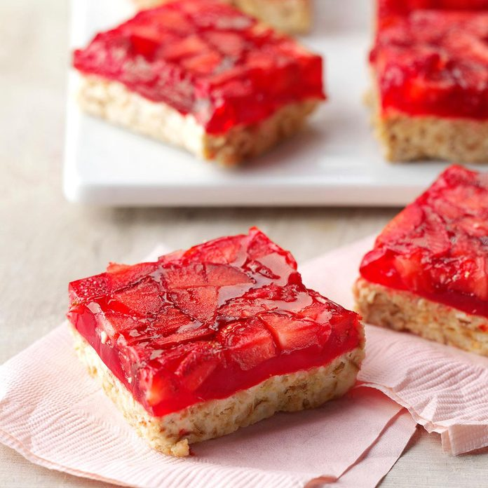 Strawberry-Lime Bars