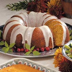 Pumpkin Bread Ring