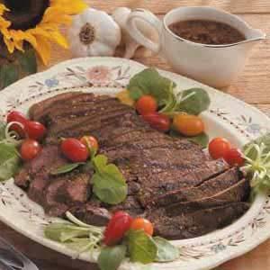 Coffee Marinated Steak
