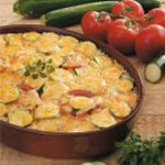 Cheesy Zucchini Rice Casserole