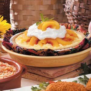 Coconut Peach Pie