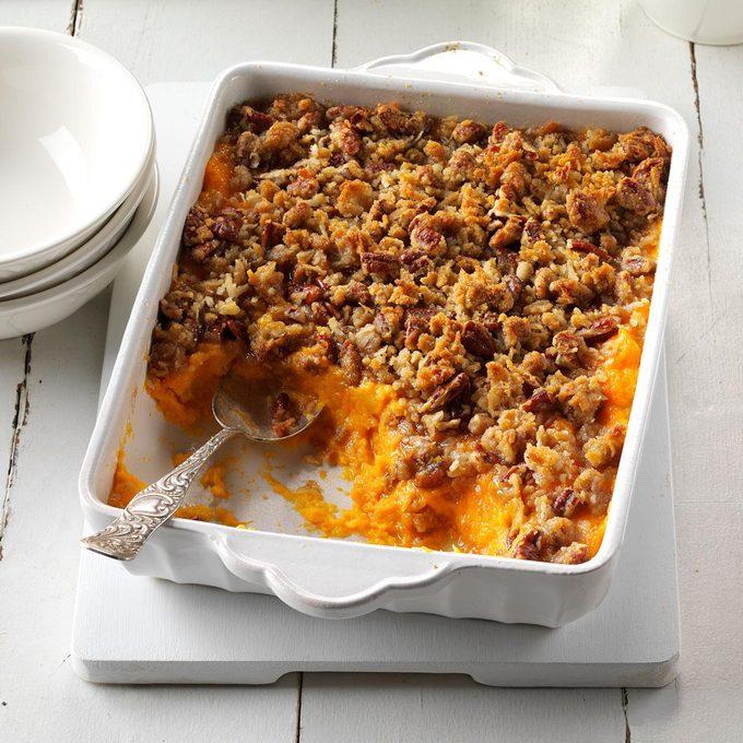 Sweet Potato, Orange & Pineapple Crunch