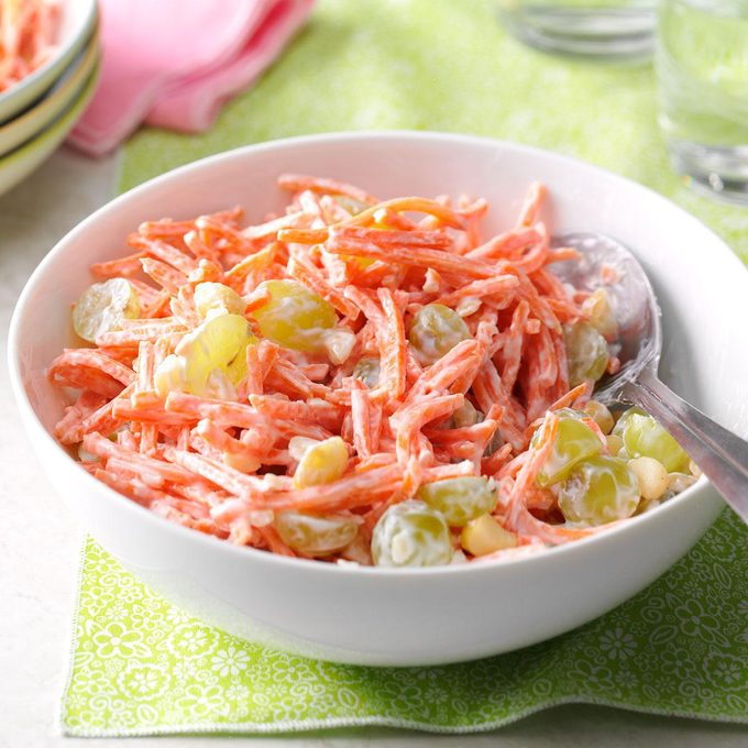 Pina Colada Carrot Salad