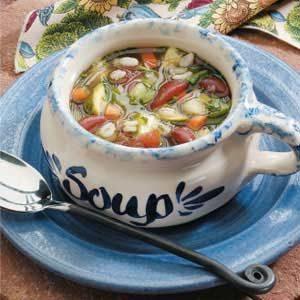 Kidney Bean Vegetable Soup